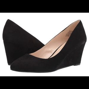 NINE WEST iSpy Black Heels size 9.5
